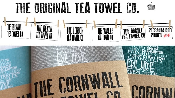 The Original Tea Towel Co. - screenshot