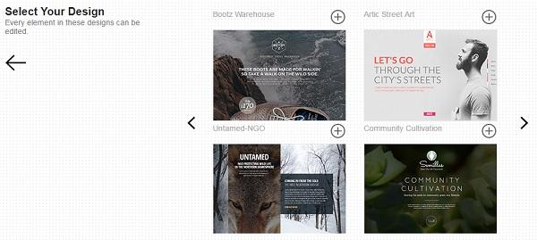 Webydo Design Templates