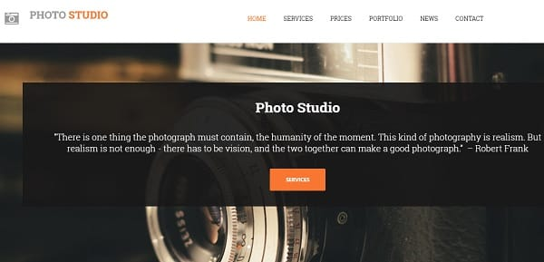 uKit Photography Website Builder
