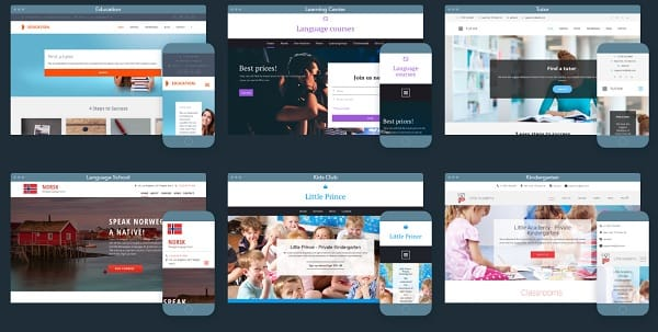 uKit School and Teacher Website Templates