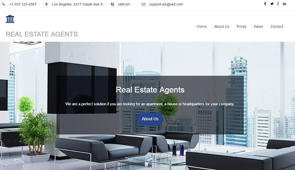 ukit - Real Estate Website