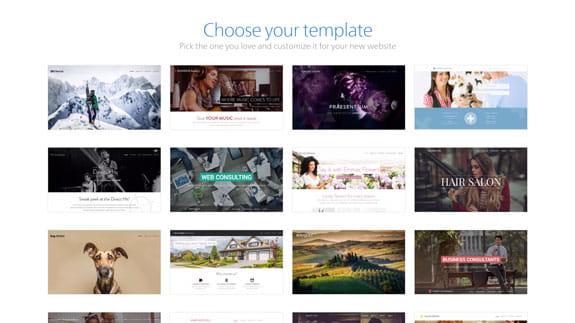 Webnode Templates