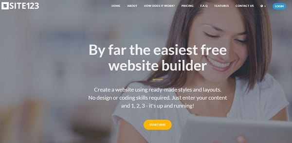 Site123 Website Builder