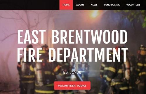 East Brentwood Fire Department - screenshot