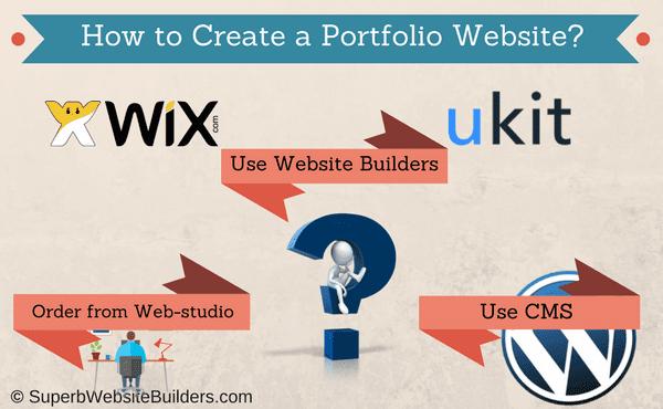 How to Create Portfolio Website