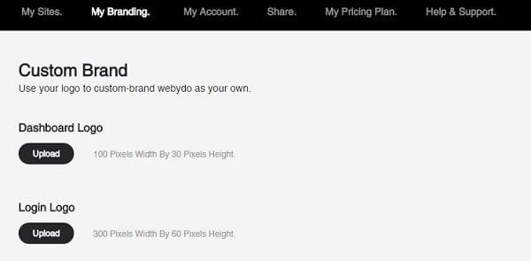 Webydo Branding