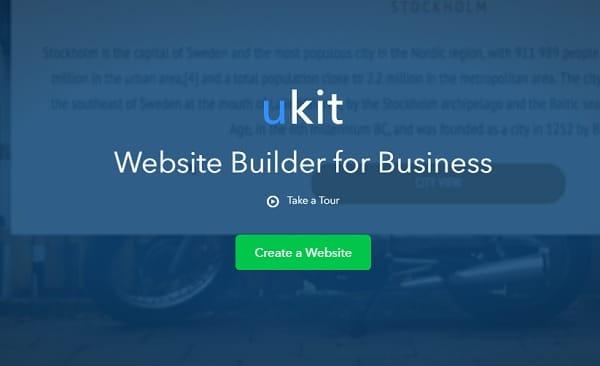 uKit Website Builder