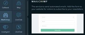 uKit MailChimp - uKit Website Builder