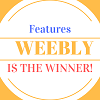 Features - Weebly is the Winner