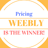 Pricing - Weebly is the Winner