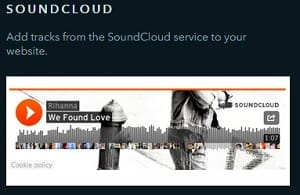 uKit SoundCloud - uKit Website Builder