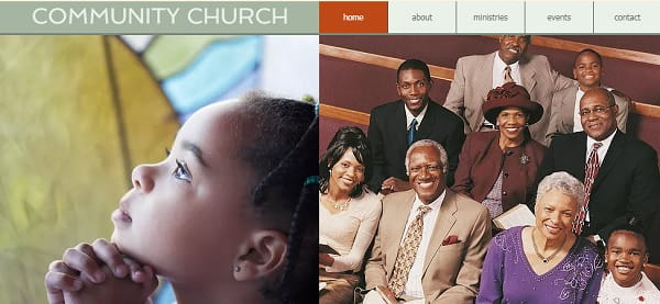 Church website - easy-to-use