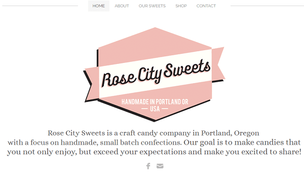 Weebly Sample Site - RoseCitySweets