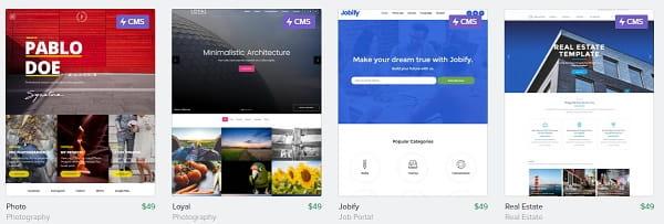Webflow Premium Templates