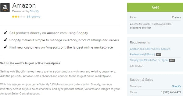 Shopify Amazon Sales Channel
