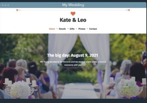 uKit Wedding Template5-min