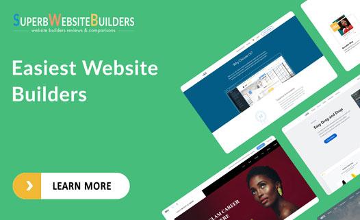 easiest website builder