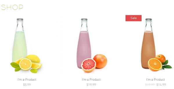 Product Catalog Wix