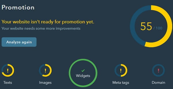 uKit Promotion Widget