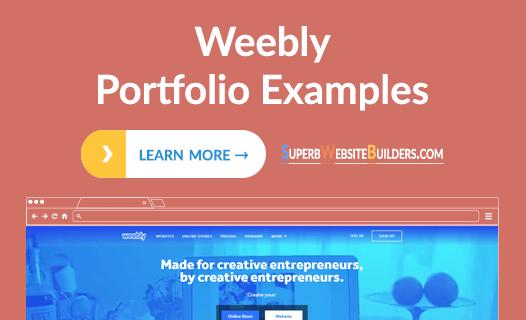 Weebly Portfolio Examples