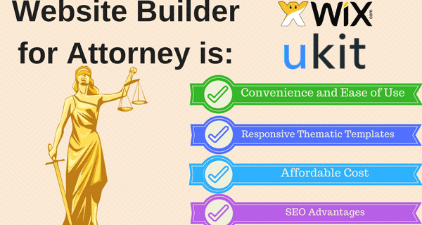 Attorney website builder