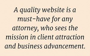 Website for Attorney