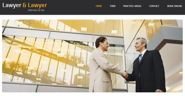 Wix - Attorney Website Builder