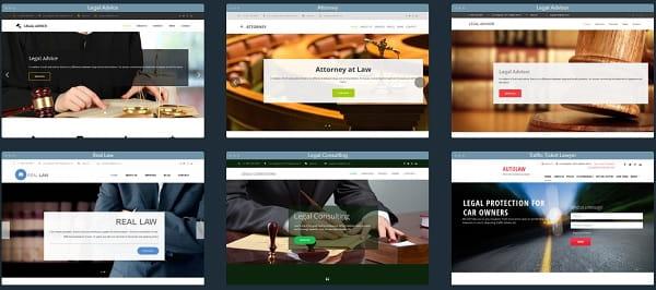 uKit Lawyer Website Design