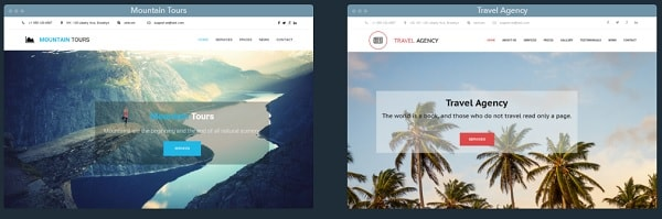 uKit Travel Templates