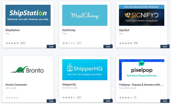 Bigcommerce Dashboard Apps