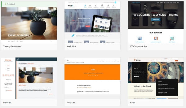 CMS (WordPress) Templates