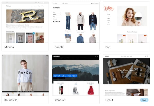 Shopify Templates