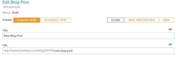 Zenfolio Website
