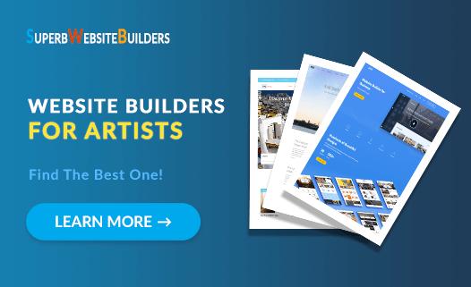 Website Builders for Artists