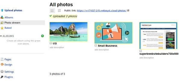 Webasyst Photos