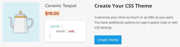 Ecwid CSS Theme Change