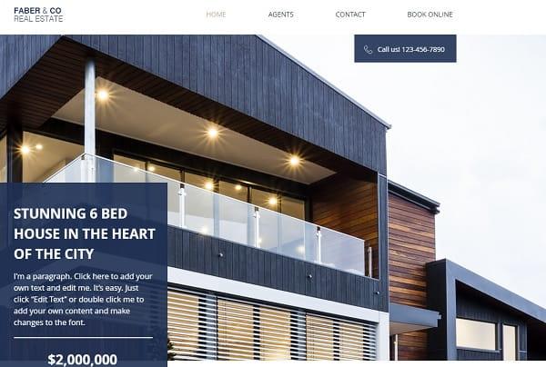 Wix Real Estate Website