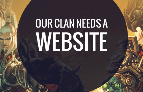Best Website Builders to a Create Clan or a Guild Website