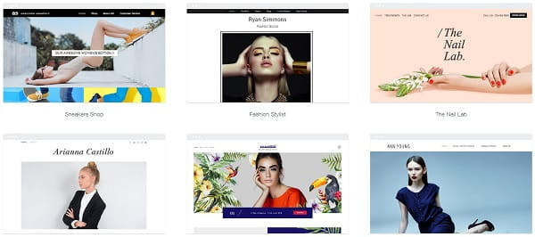 Wix Fashion Website Templates