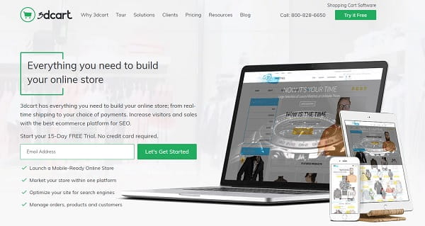 3dcart - A Powerful & Secure eCommerce Software