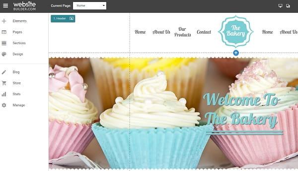 Websitebuilder-com Editor
