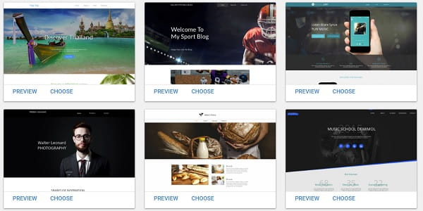 Websitebuilder-com Templates