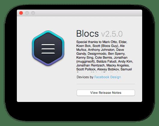 Blocs 2.5.0