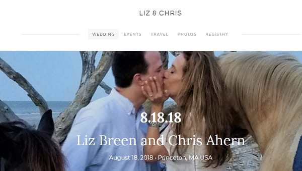 Liz and Chris