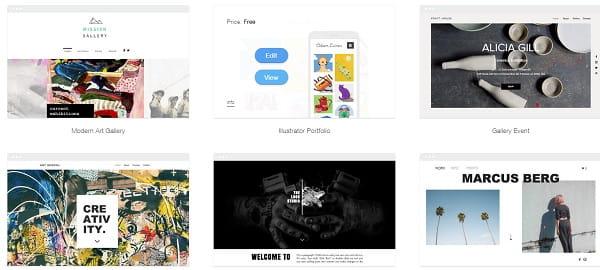 Website's templates