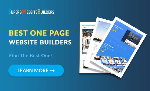 Best One Page Website Builders