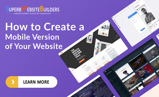 how to build a mobile website version the ultimate guide. Black Bedroom Furniture Sets. Home Design Ideas