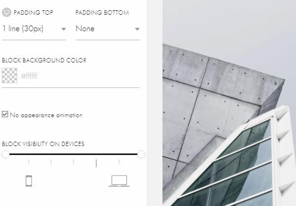 Tilda Design Settings