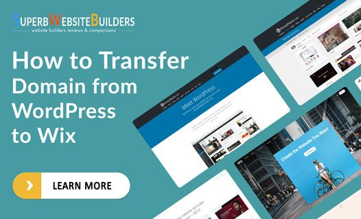 How to Transfer Domain from WordPress to Wix