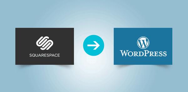 Order Squarespace to WordPress Migration